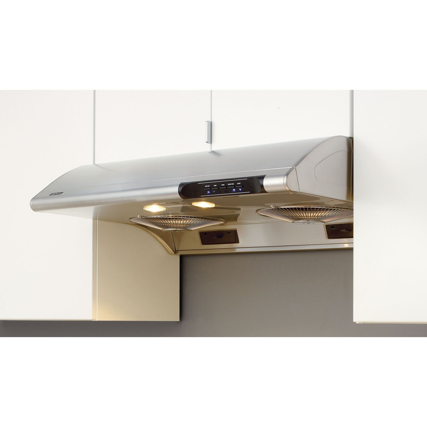 Zephyr Essentials Series Typhoon Stainless Steel Silver 36 Inch Under Cabinet Range Hood