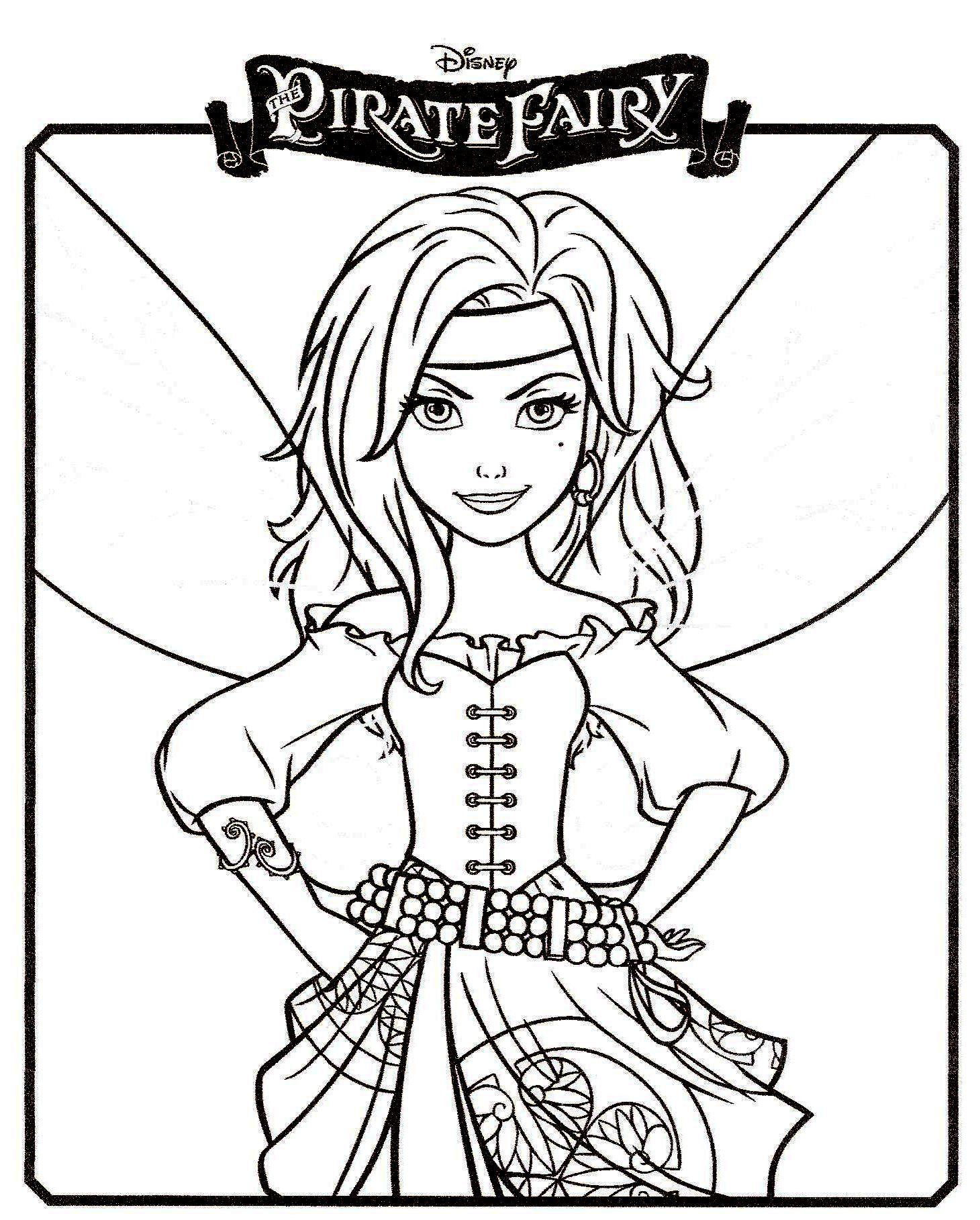 Clochette Et La Fee Pirate 6 Fee Clochette Coloriage Clochette