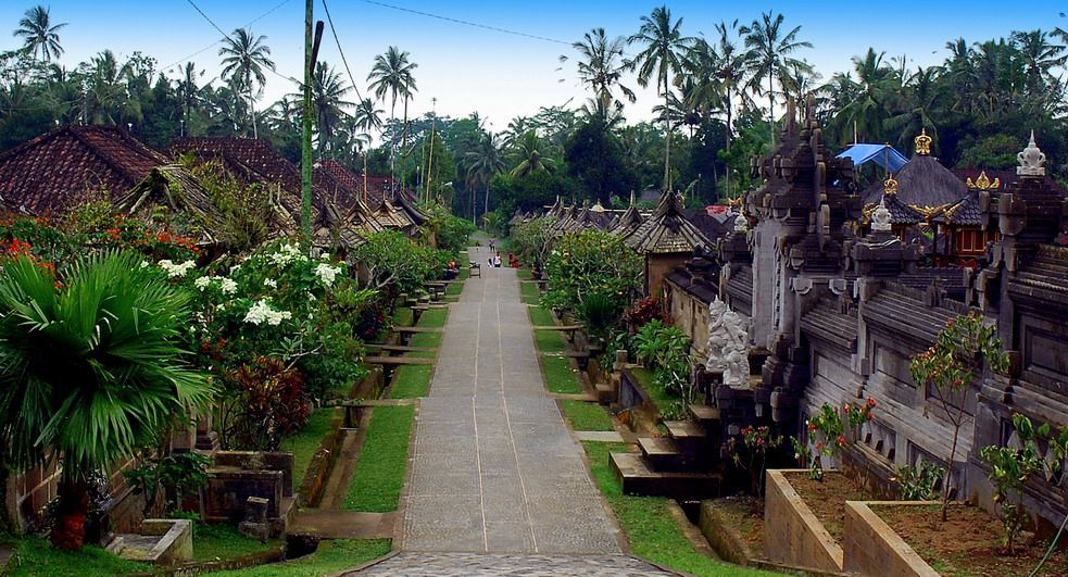 Desa Penglipuran Objek Wisata Di Bali Yang Jarang