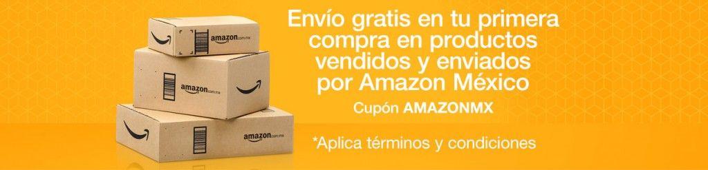 Amazon cupón de envío gratis en primera compra