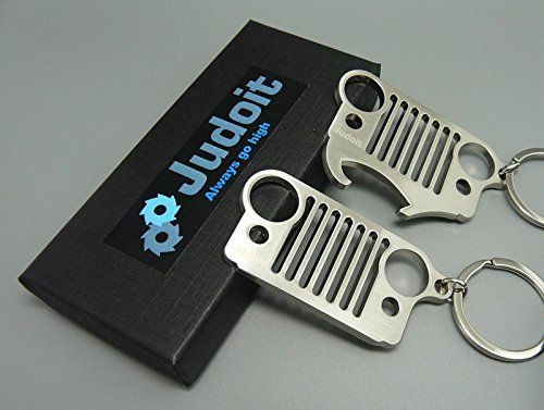Jeep Keychain Bottle Opener Pack 2 Jeep Grill Keychain Perfect
