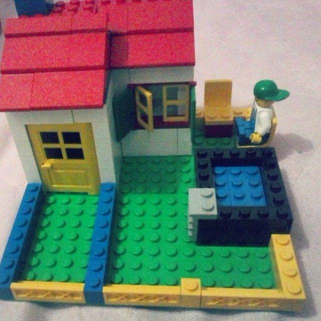eu sendo criança sempre #lego