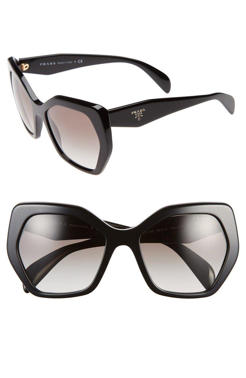 Prada Heritage 56mm Sunglasses (Nordstrom Exclusive in