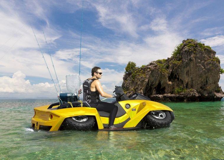 Yamaha Quadski Price | quadski yallow Quadski Gibbs Sport Amphibians