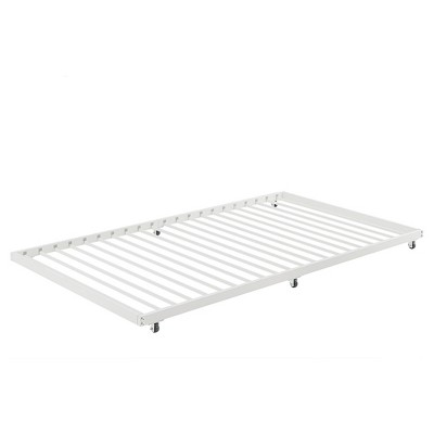 Twin Roll Out Trundle Bed Frame White Walker Edison