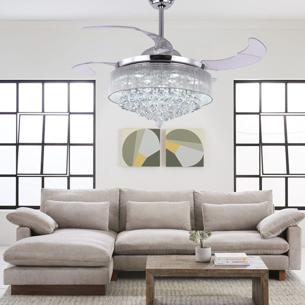 34++ Living room ceiling fan with lights and remote ideas in 2021