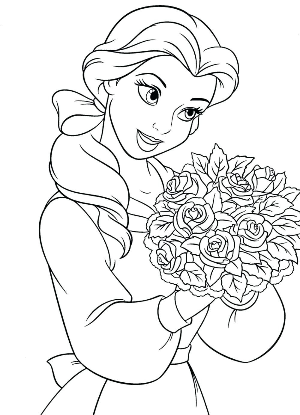 Free Printable Coloring Pages For Kids Princess