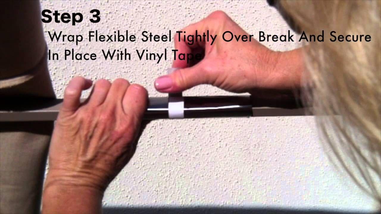 patio umbrella rib repair for aluminum