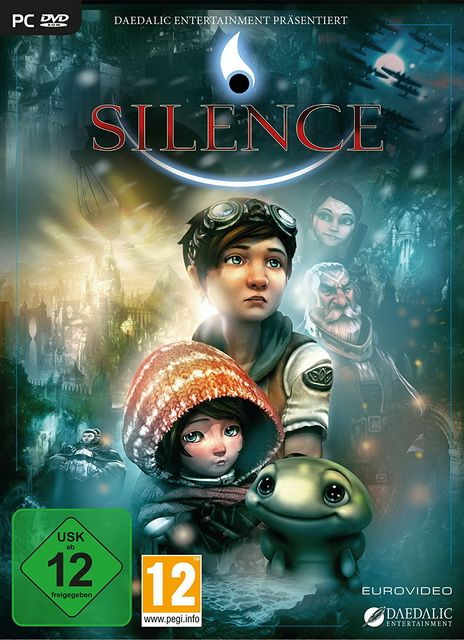 Silence The Whispered World 2 Game Cover Ps4 Games Ps4 Silence