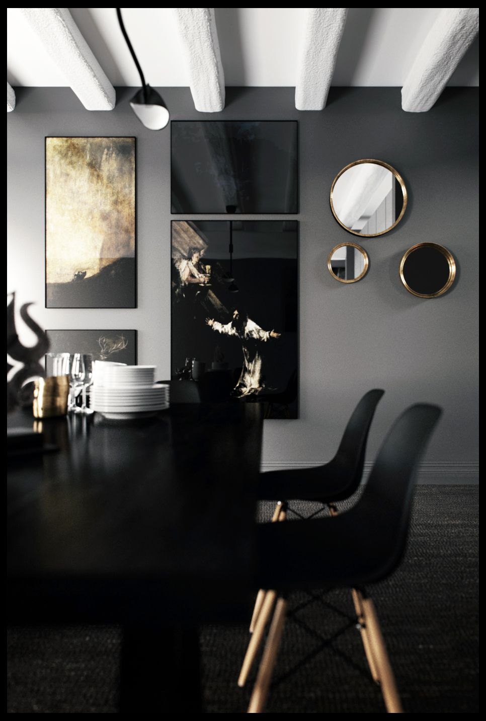 Dining Room Romain Ricard Contemporary Home Decor