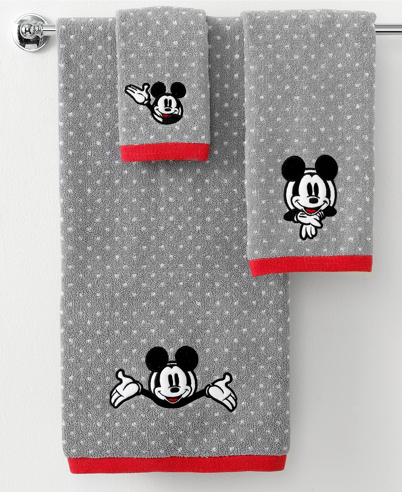 Disney Bath Towels, Disney Mickey Mouse Collection - Bath Towels ...