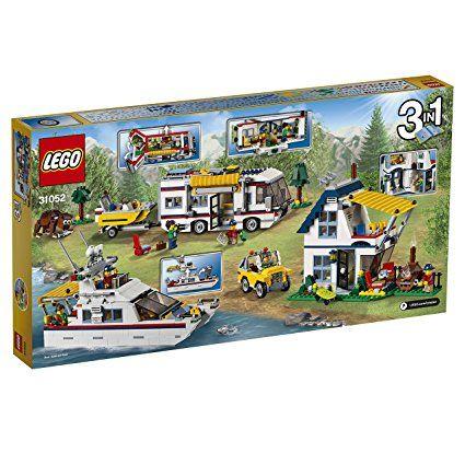 LEGO - Creator - Jeu de Construction - Le Camping-car  Modèle 3-en - modele de construction maison