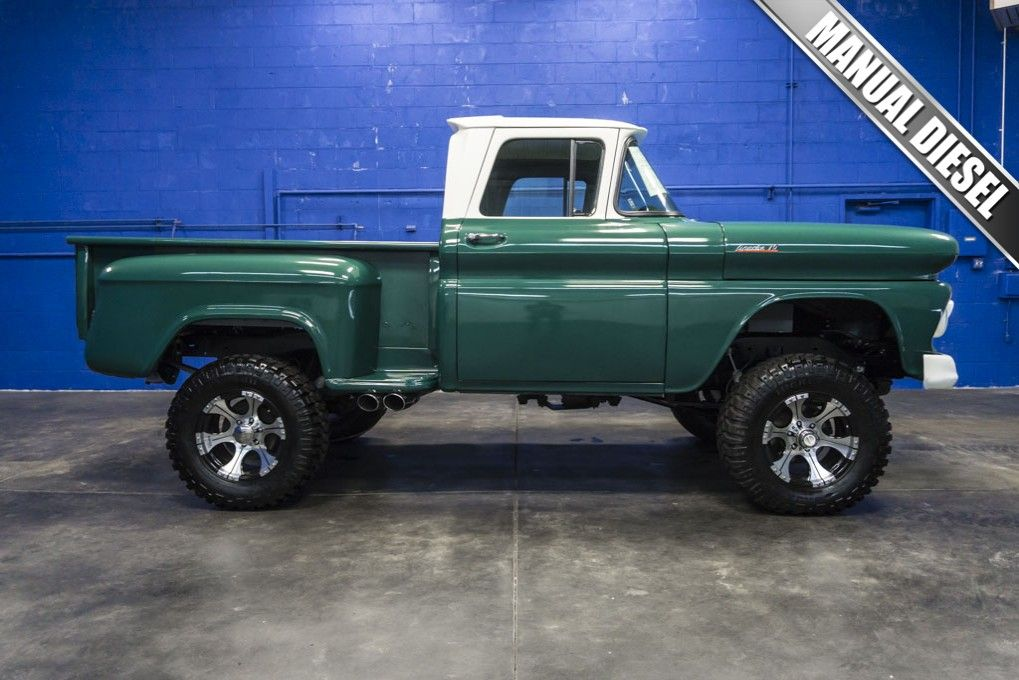Custom Lifted Classic 1961 Chevrolet Apache 10 RWD Truck For Sale At ...
