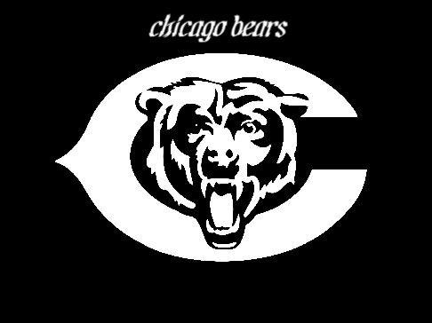 Chicago Bears C And Bears Head Chicago Bears Logo Bear Stencil Chicago Bears Tattoo