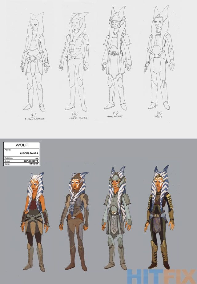 Oh Wow This Is The Concept Art For Ahsoka In Rebels They All Look So Cool Star Wars Clone Wars Star Wars Fandom Star Wars Art