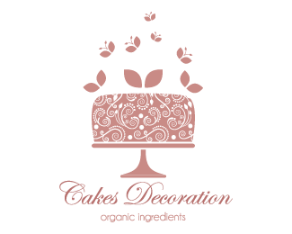Cake Designs Logo : cakes decorations Logo design - This logo is ideal for ...