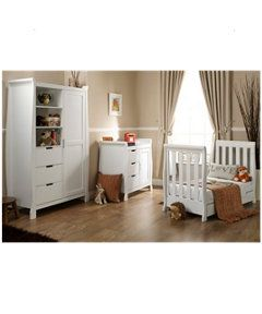 Obaby Lincoln Mini Sleigh 3 Piece Nursery Furniture Set Http Www Paideal