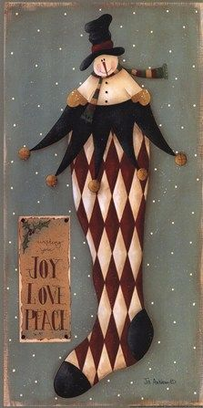 Holiday Wishes by Jill Ankrom art print