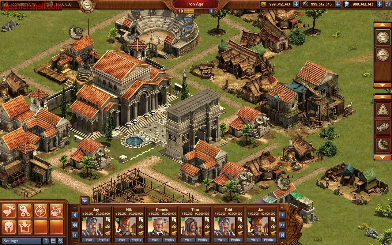 Forge of Empires hack unlimited Diamonds, Coins and Supplies