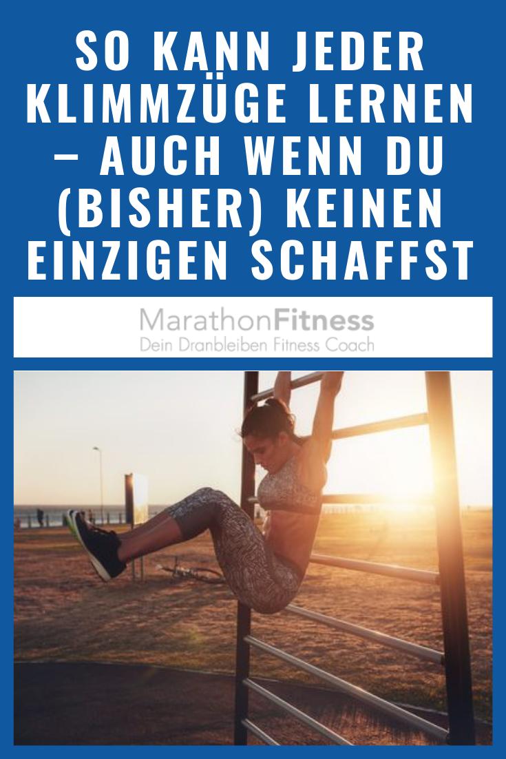 Photo of Jeder kann Klimmzüge lernen.