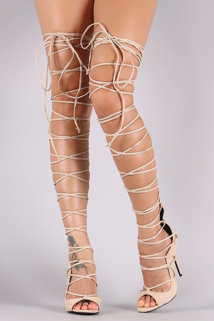 7bb91af77c5a Suede Thigh High Lace Up Heel – Style Lavish
