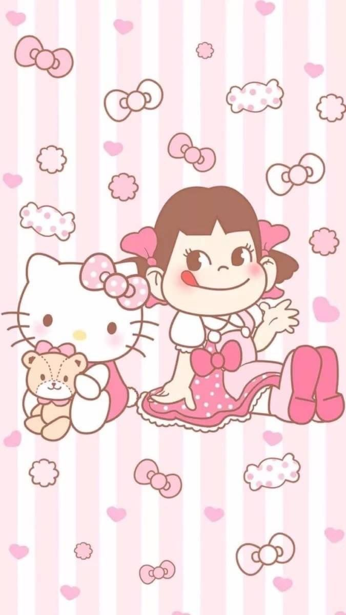 Good Wallpaper Hello Kitty Cute - e81d1bcecdb6c6db370aabf949c6db39  Trends_659766.jpg