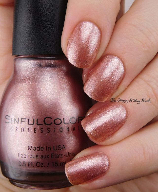Sinful Colors Gold N Roses Be Hy And Polish Https