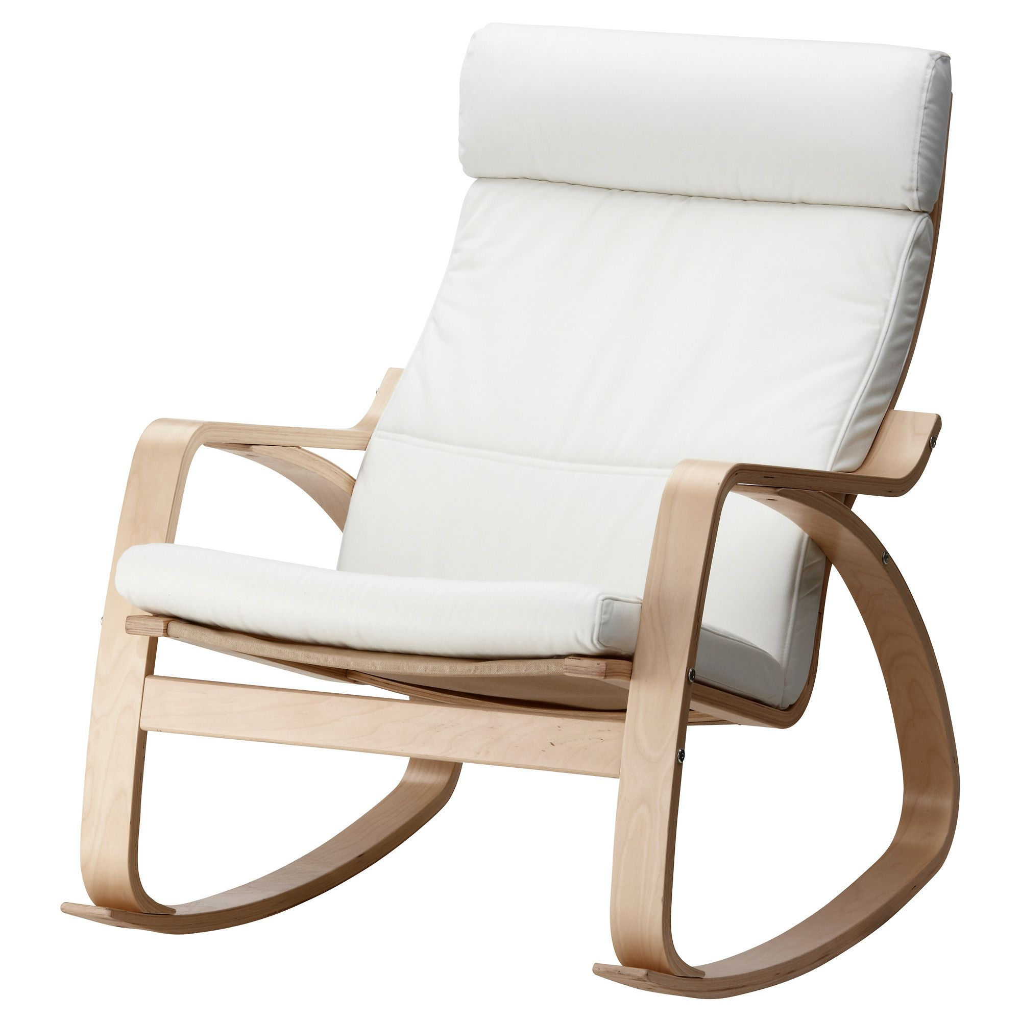 Ikea Rocking Chairs How To Make A Wooden Chair Stop Squeaking Nursery Cozy It Up By Diy Arm Rests With Contrast Fabric
