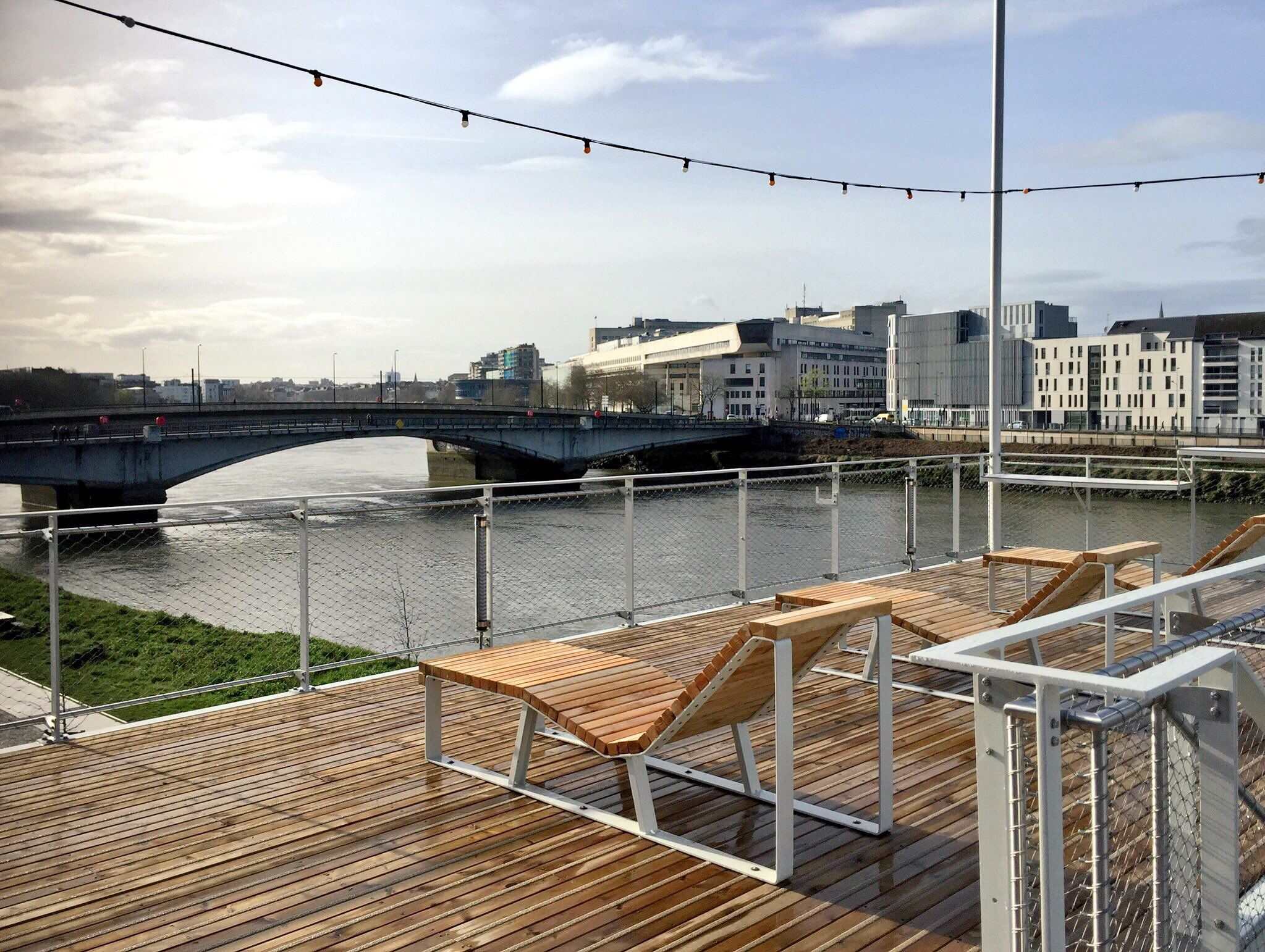 Nouveau Rooftop La Guinguette Du Belvédère à Nantes Bar