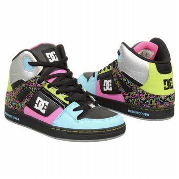 Athletics DC Shoes Kids' Rebound Black