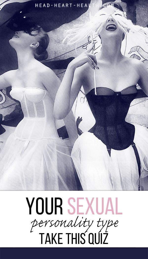 Take this fun Sexual Personality Type Quiz based on attraction, libido, emotional needs and sense of adventure - relationships, dating, sexuality, compatibility, humor