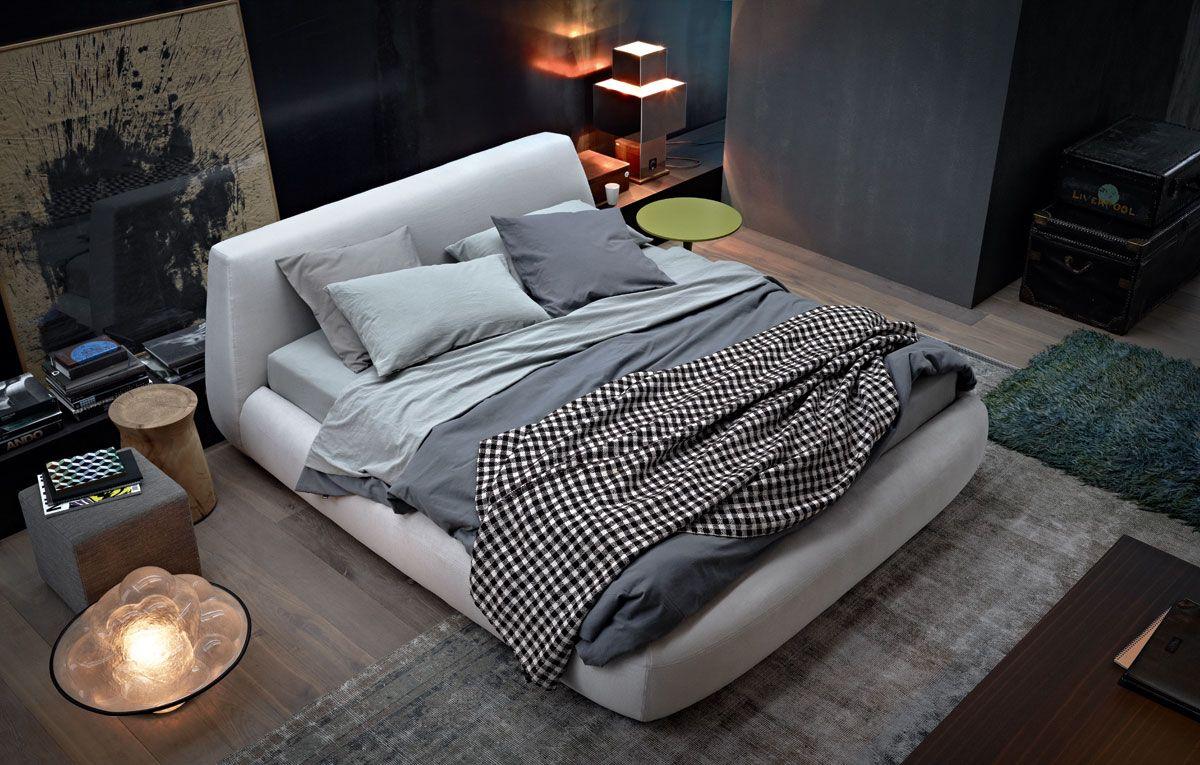 Innenarchitektur von schlafzimmermöbeln big bed by paola navone