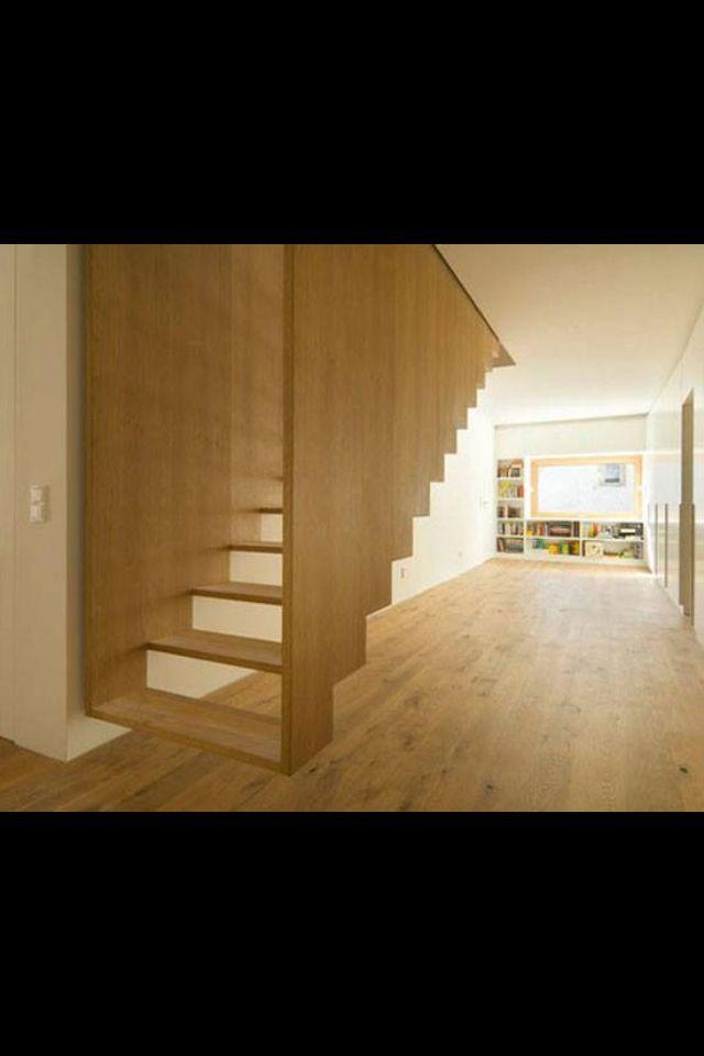 Så smuk en trappe