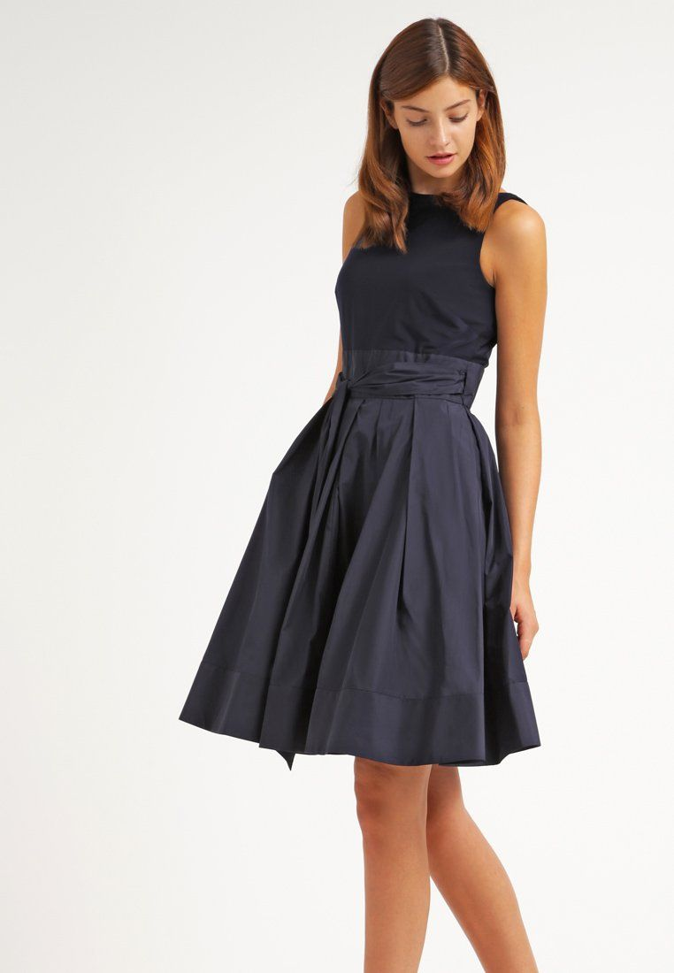Lauren Ralph Lauren YUKO - Cocktailkleid   festliches Kleid - lighthouse  navy - Zalando.de a1925e26e6