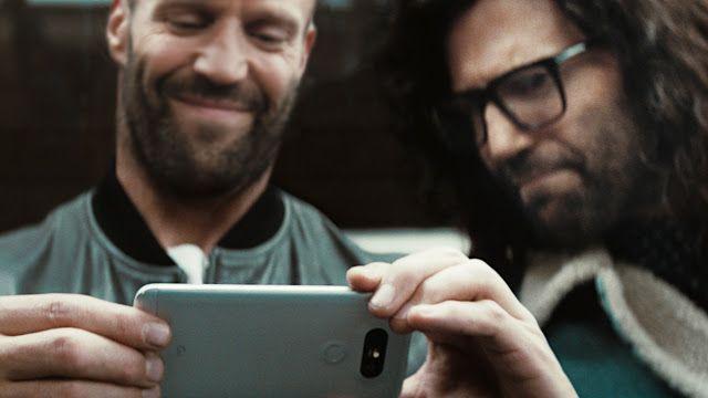 Fantechnology: LG scrittura Jason Statham per il primo spot di G5...