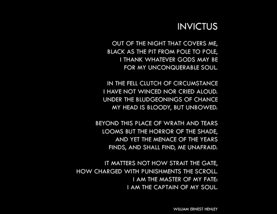 Invictus by infamous8 Invictus by infamous8
