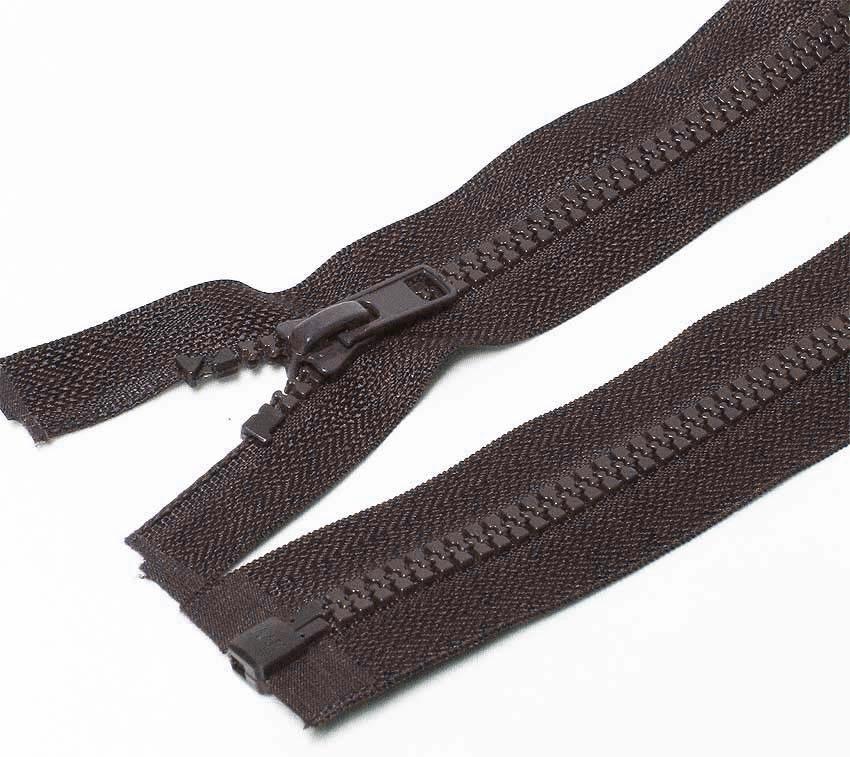 65cm Grey Open End Zip