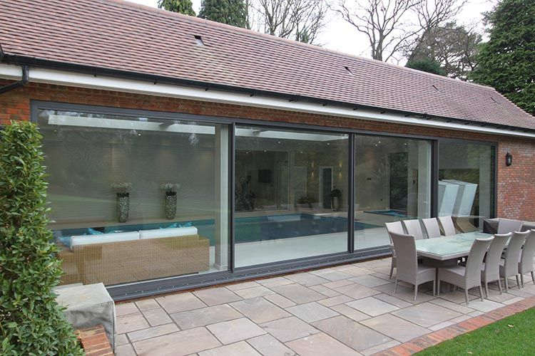Solarlux Cero frameless sliding glass doors now available Thames