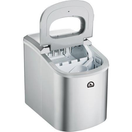 Igloo Portable Countertop Ice Maker Ice102 Silver Walmart Com