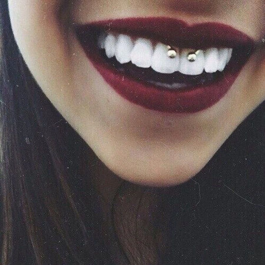 Pin by Hos_hos on 〜야。 in 2020 Mouth piercings, Cute