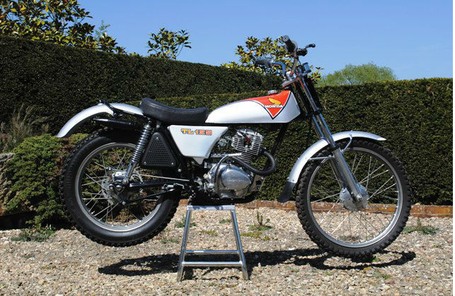 honda tl125 trial bike honda motorcycles motorbikes pinterest