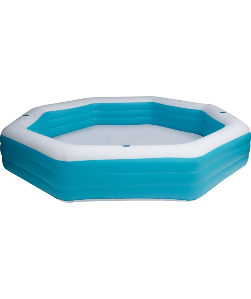 Buy Summer Escapes 9ft Octagonal Family Paddling Pool 1318l Pools And Paddling Pools Argos Outdoor Toys Center Pool Inflatable Pool