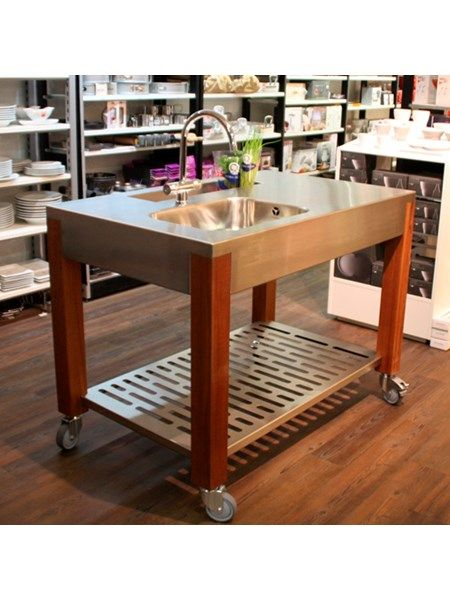udekøkken cook air zink mix udekøkken bordplader madlavning on zink outdoor kitchen id=16575