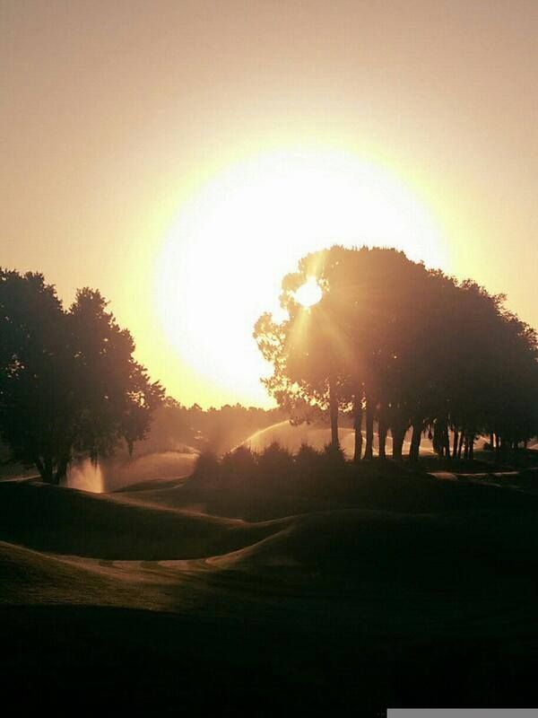 TPC Tampa Bay Golf Course at Sunset