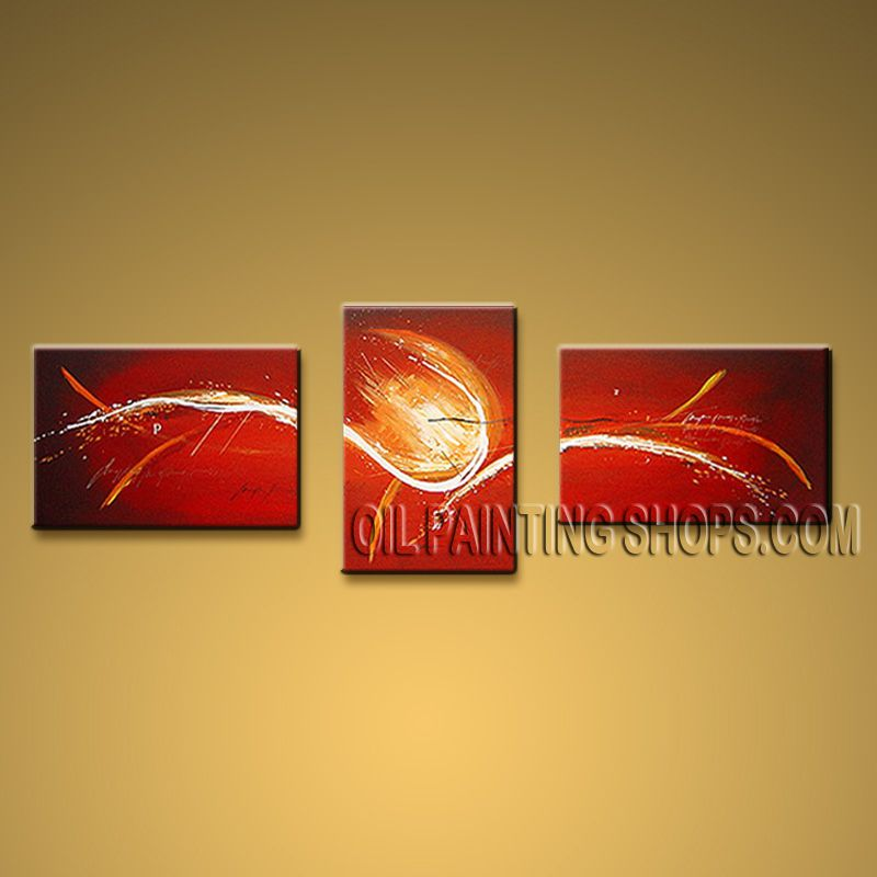Hand-painted Elegant Modern Abstract Painting Wall Art Contemporary Decor. In Stock $121 from OilPaintingShops.com @Bo Yi Gallery/ ops9069