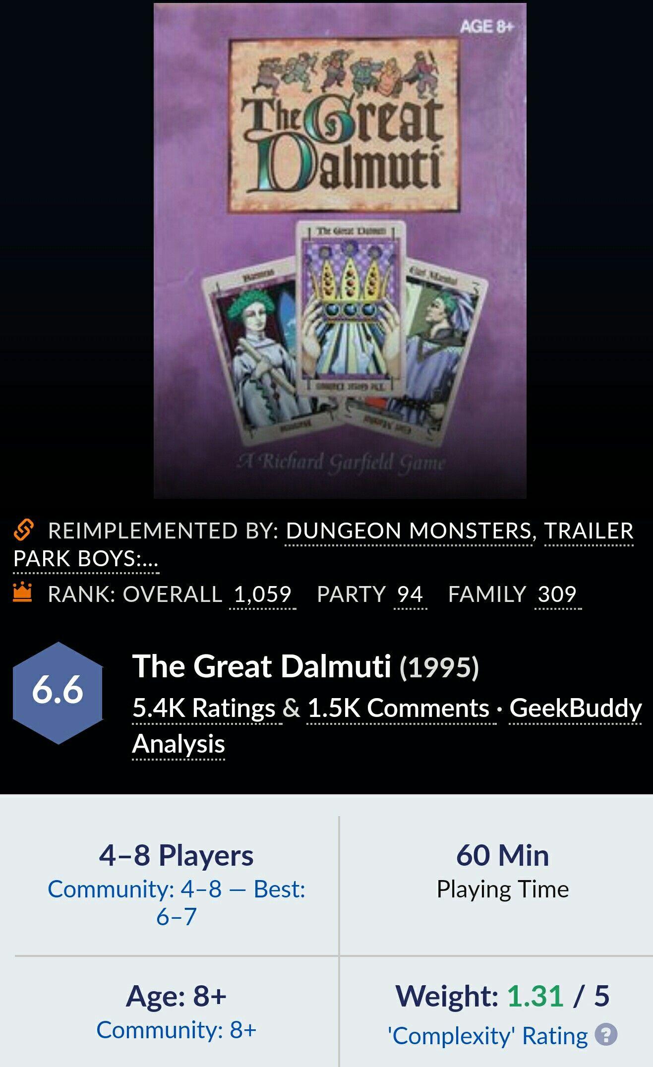 The Great Dalmuti Trailer park boys, Trailer park, Greatful