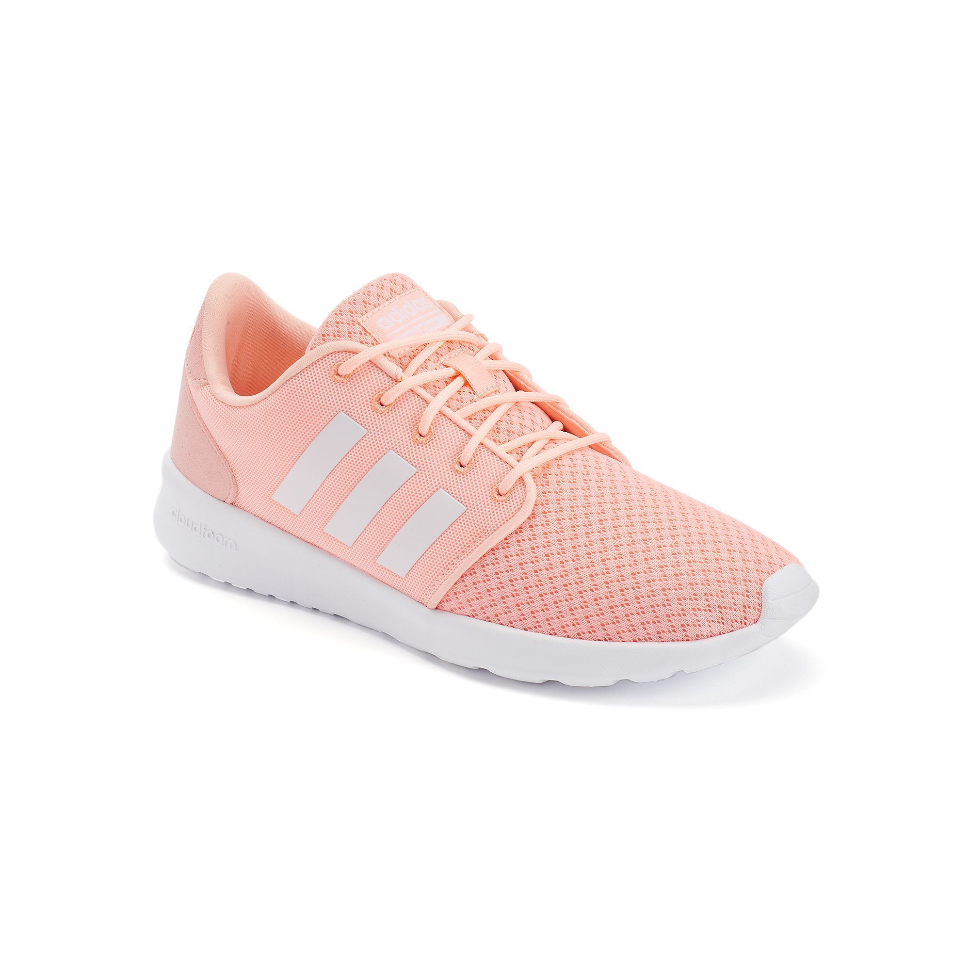 Adidas NEO Cloudfoam QT Racer Women\u0027s Shoes, Light Pink