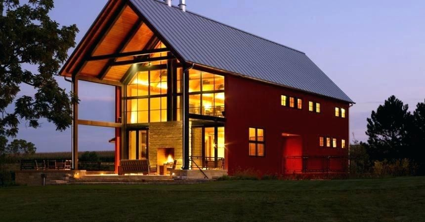 Pole Barn House Plans And Prices Exterior Rustic With Barn Cabin Grass Lawn Patio Furniture Picnic Barn House Design Barn House Plans Pole Barn Homes