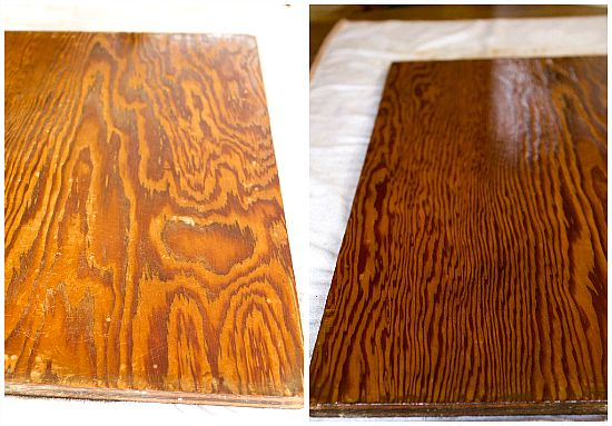 How To Refinish A Wooden Dough Board Or Butcher Block Diy