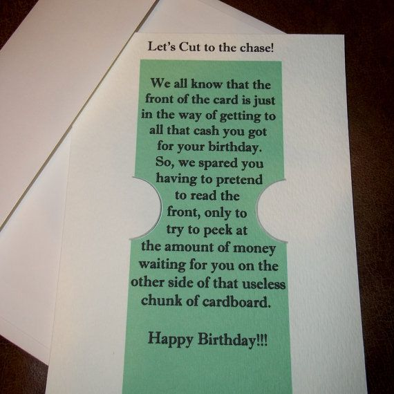Weird Birthday Money Card Gift 5x7 Greeting Card By By Agorables